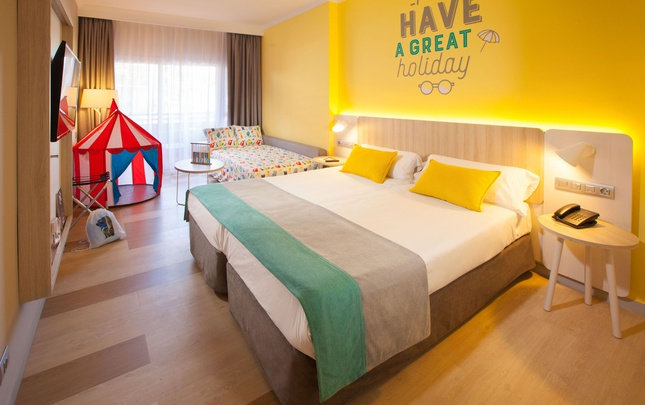 Familien- doppelzimmer abora continental by lopesan hotels gran canaria